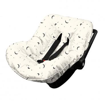 Minene Βαμβακερό Κάλυμμα Καθίσματος Αυτοκινήτου Cream 19307001160OS