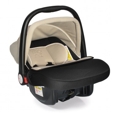 Moni Κάθισμα Αυτοκινήτου Luna, 0-13kg Beige 3800146237967