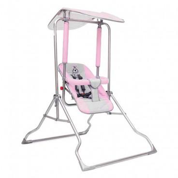 Moni Κούνια Εσωτερικού Και Εξωτερικού Χώρου Garden Cradle Comfort Pink 3800146247409