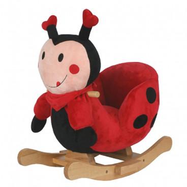 Moni Κουνιστό Βελούδινο Πασχαλίτσα Ladybug Mery GS6082