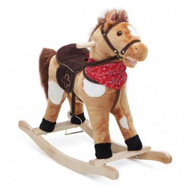 Moni Κουνιστό Βελούδινο Αλογάκι Horse Thunder GS2021