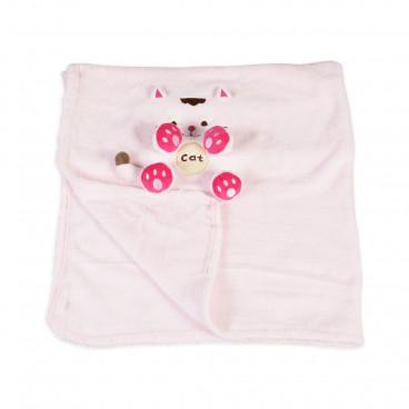 Moni Κουβέρτα Αγκαλιάς Coral Fleece 75/100 cm Lindo 3800146262211