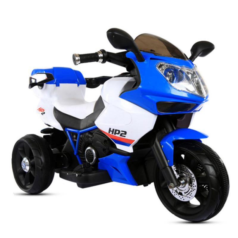 Moni Ηλεκτροκίνητη Μηχανή 6V HP2 FB-6187 Blue 3800146252748