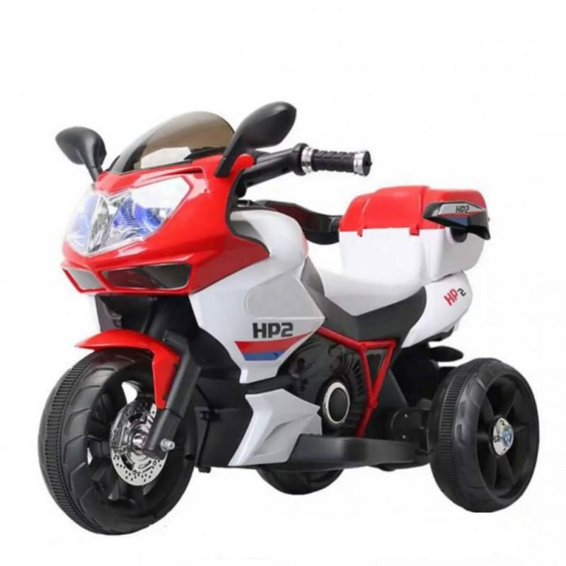 Moni Ηλεκτροκίνητη Μηχανή 6V HP2 FB-6187 Red 3800146252731
