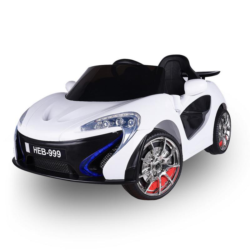 Moni Ηλεκτροκίνητο Αυτοκίνητο Lava HEB-999 White 3800146252922