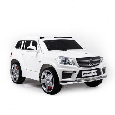 Moni Ηλεκτροκίνητο Αυτοκίνητο Mercedes Benz GL63 AMG Eva Wheels LS-628 White 3800146252779