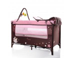 Moni Παρκοκρέβατο Sleepy Pink 3800146247508