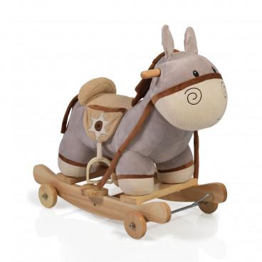 Moni Κουνιστό Βελούδινο Γαϊδουράκι Donkey Dulcinea 3800146242183