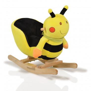Moni Κουνιστό Βελούδινο Μελισσούλα Bee 3800146242244