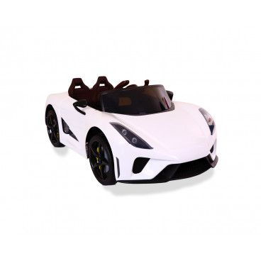 Moni Ηλεκτροκίνητο Αυτοκίνητο 12V Famous White 3800146213633