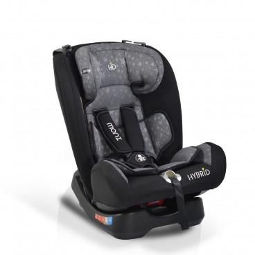 Moni Κάθισμα Αυτοκινήτου Hybrid, 0-36kg Grey Stars 3800146239701