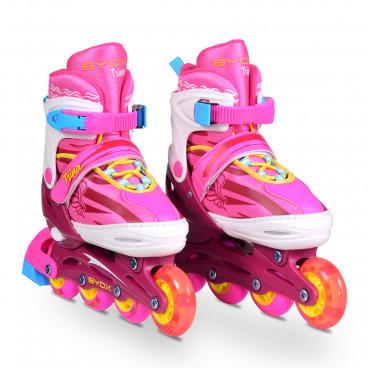 Moni Παιδικά Πατίνια Trina Pink Small (30-33) 3800146254049