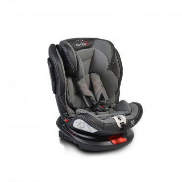 Moni Κάθισμα Αυτοκινήτου Motion Isofix 360°, 0-36kg Grey 3800146239916