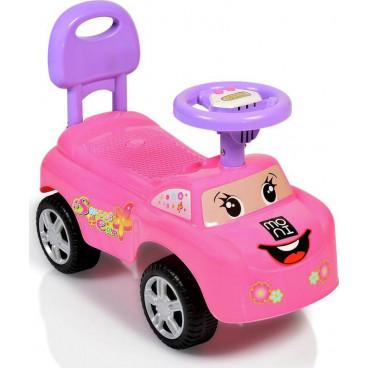 Moni Περπατούρα Αυτοκινητάκι Keep Riding 618A Pink 3800146242459