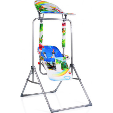 Moni Κούνια Εσωτερικού Και Εξωτερικού Χώρου Garden Swing Funny 2020 Blue 3800146240011