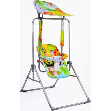 Moni Κούνια Εσωτερικού Και Εξωτερικού Χώρου Garden Swing Funny 2020 Green 3800146240011