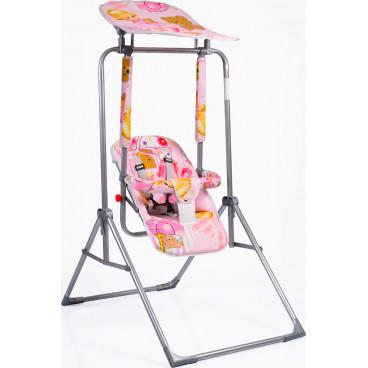 Moni Κούνια Εσωτερικού Και Εξωτερικού Χώρου Garden Swing Funny 2020 Pink 3800146240011