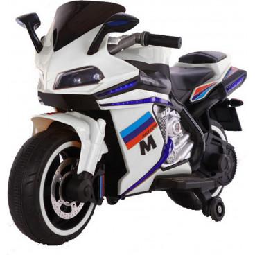 Moni Ηλεκτροκίνητη Μηχανή 12V Sport White 3800146214227