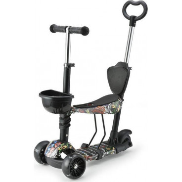 Moni Scooter 3 Σε 1 Pixy Black 3800146226060