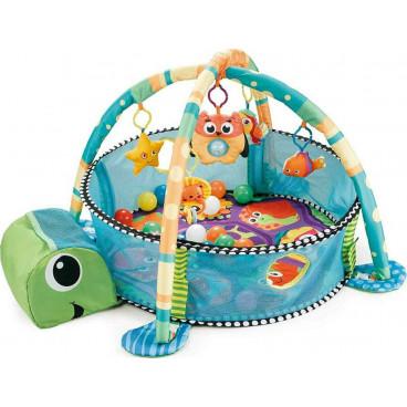 Moni Γυμναστήριο Χαλάκι Δραστηριοτήτων Sea Turtle 3 Σε 1 3800146265359