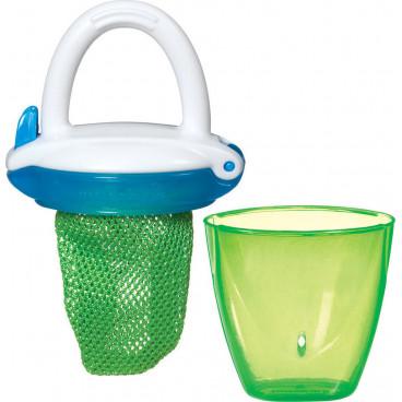 Munchkin  Δίχτυ Για Στερεές Τροφές Με Λαβή Green 11490
