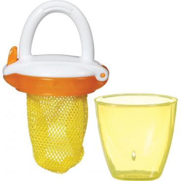 Munchkin Δίχτυ Για Στερεές Τροφές Με Λαβή Yellow 11490