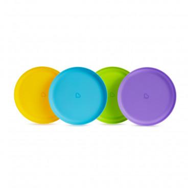 Munchkin Πιάτα Φαγητού Modern 4τμχ 51761