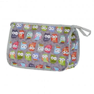 My Bags Νεσεσέρ Καλλυντικών  Owl Grey CB-OWL-GRE
