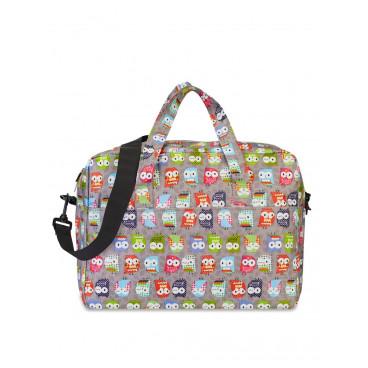 My Bags Τσάντα Μαιευτηρίου Owl Grey WB-OWL-GRE