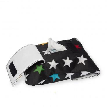 My Bags Θήκη Για Μωρομάντηλα My Stars Black PTSTABL