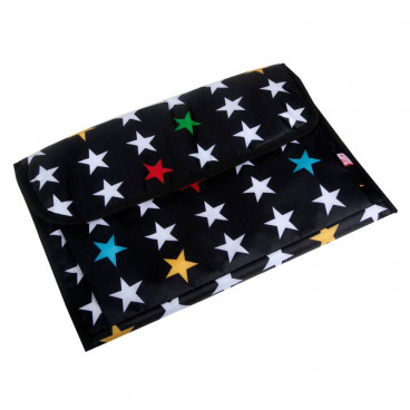 My Bags Αλλαξιέρα Μαλακή My Stars Black BCHSTABL
