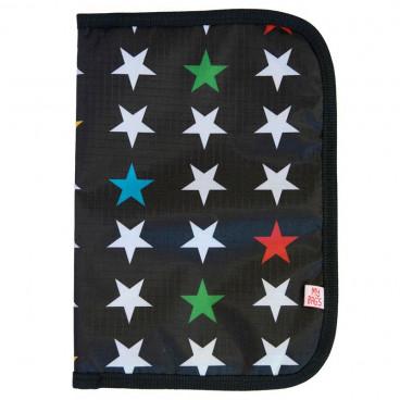 My Bags Θήκη Βιβλιαρίου Υγείας My Stars Black PGSTABL