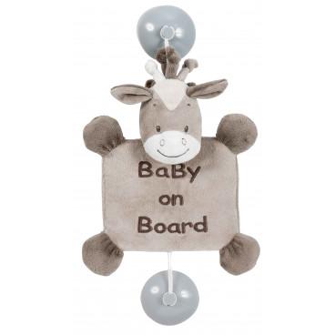 Nattou Max Noa And Tom Σήμανση Αυτοκινήτου Baby On Board Horse Ν777438