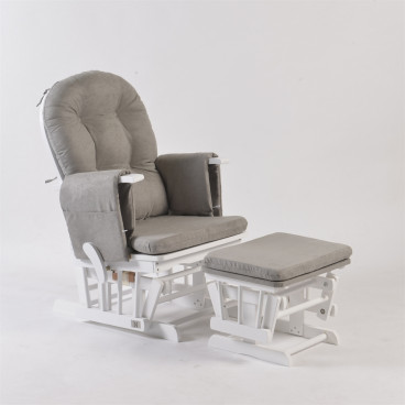 Neonato Πολυθρόνα Θηλασμού Με Ρυθμιζόμενη Πλάτη Sofia Λευκό