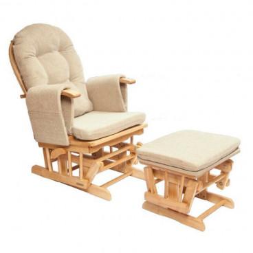 Neonato Πολυθρόνα Θηλασμού με ρυθμιζόμενη πλάτη Sofia Φυσικό