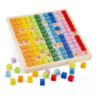 New Classic Toys Ξύλινο Παιχνίδι Εκμάθησης Πολλαπλασιασμού 10511