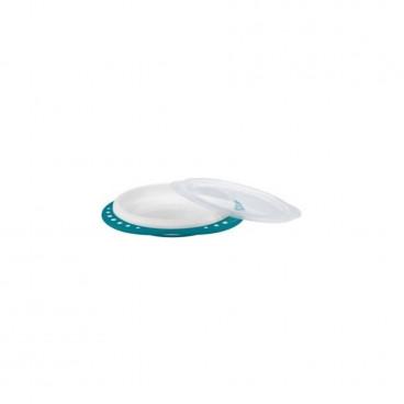 Nuk Πιάτο Με Καπάκι 8m+ Blue 10255049