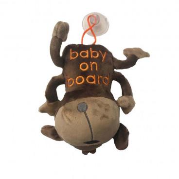 Quattro Baby Σήμανση Αυτοκινήτου Baby On Board Puppy 27549