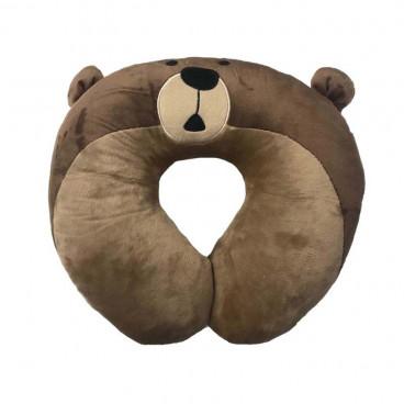 Quattro Baby Παιδικό Μαξιλαράκι Αυχένα Bear 27532