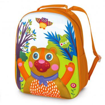 Oops Παιδική Τσάντα Πλάτης Happy Backpack Bear X30-30004-11