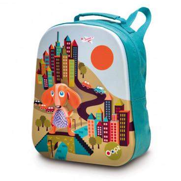 Oops Παιδική Τσάντα Πλάτης Happy Backpack City X30-30004-20
