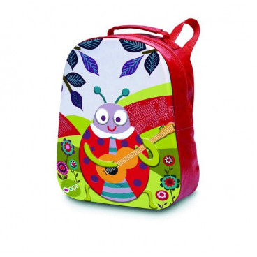 Oops Παιδική Τσάντα Πλάτης Happy Backpack Ladybug X30-30004-33