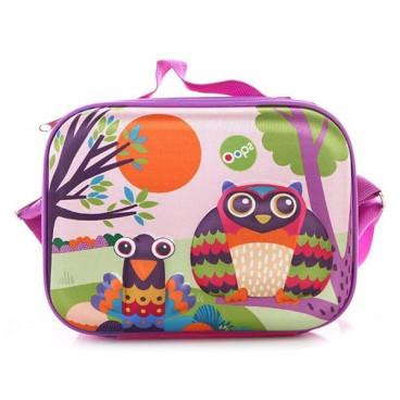 Oops Παιδική Τσάντα Γεύματος Happy Snack Owl X30-31006-12
