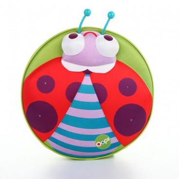 Oops Παιδική Τσάντα Πλάτης My Starry Backpack Ladybird X30-30008-33