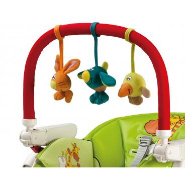 Peg Perego Μπάρα Παιχνιδιών Για Καρέκλα Φαγητού 4134IABAGI