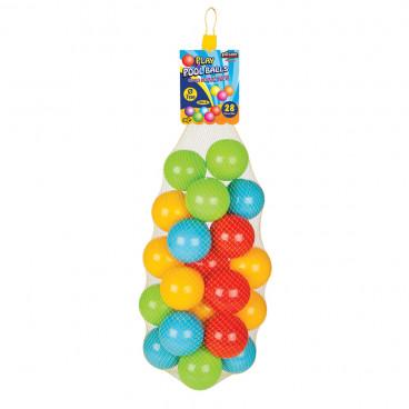 Pilsan Μπαλάκια Παιδικά Χρωματιστά 28Τμχ.06423