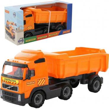 Polesie Φορτηγό Με Συρόμενη Καρότσα 9524 Πορτοκαλί