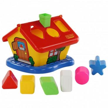 Polesie Παιχνίδι Ταξινόμησης Σχημάτων Garden House 3354