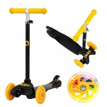 QKids Πατίνι Scooter Lumis Yellow 5900495890160