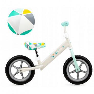QKids Ποδήλατο Εκμάθησης Ισορροπίας Fleet Grey Triangles 5900495864499